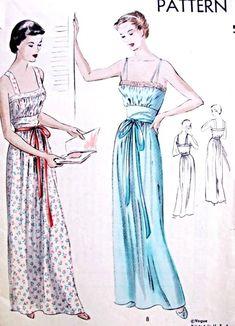 Vintage Lingerie Patterns