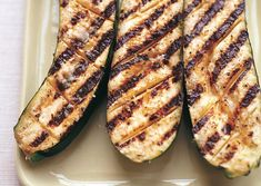 Grilled Zucchini with Garlic and Lemon Butter