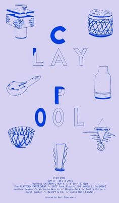 CLAY POOL poster by Lauren Spencer King the sphinx & the milky way
