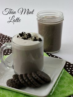 Thin Mint Latte | Re