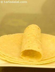 Corn Tortillas recipe | Mexican Recipes | by Tarla Dalal | Tarladalal.com | #1273