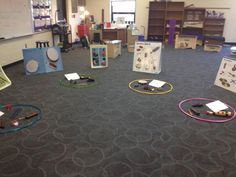 Instrument petting zoo.  An idea for Parent Teacher Conference to get families in the music room.  Make Moments Matter - Classroom Ideas