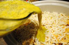Overnight Egg Brunch in the Crock Pot