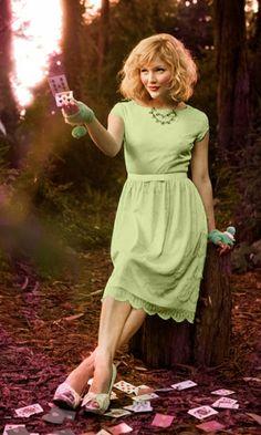 Mint Tea Dress from Shabby Apple