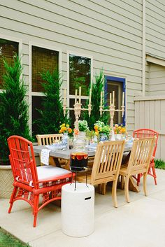 Outdoor Entertaining: Dining Al Fresco with Waiting On Martha