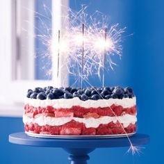Star-Spangled Sweets: 26 Red, White, and Blue Berry Desserts for July 4th