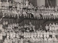 Canada's YMCA: Celebrating our history and looking to the future - YMCA Canada - Historical photo of kids at YMCA programs