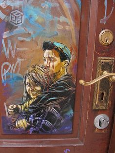Artist: C215 #streetart