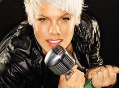 Pink!  I love her attitude, wit, and her passion for life and the things she believes in!
