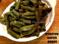 Roasted Green Beans ~ A new take on an old classic!