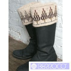 Boot Toppers FREE Knitting Pattern by Berroco - FREE Knitting Pattern