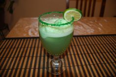 Easy Non-Alcoholic drink for St. Patricks's Day