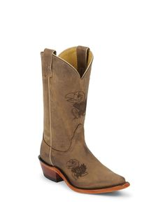 Nocona Women's Kansas Jayhawks Branded Boot
