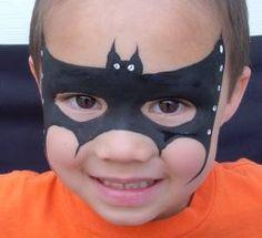 Batman facepaint