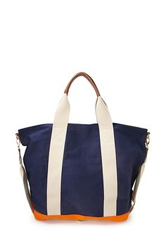 No-Fuss Weekender Tote | FOREVER 21 - 1000063574