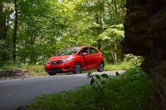 Take your Honda Fit into the wilderness and get ready for an adventure.  Photo Credit: Wesley Grim