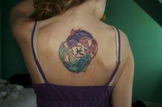 inspir ink, pisc ink, first tattoo, piscesth fish, partner tattoos, skin ink, koi, ink addict, zodiac tattoo