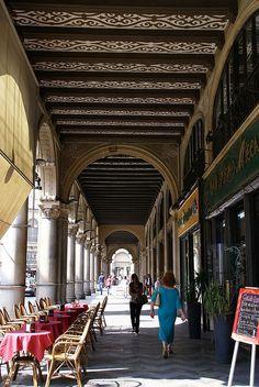Torino, Portici di Via Pietro Micca