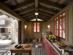 color palettes, architects, outdoor workspac, cottag, architectur, colors, outdoor kitchens, hous, garden