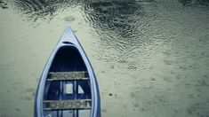 boat in the rain