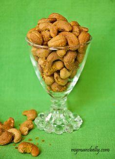 Coconut Curry Cashews