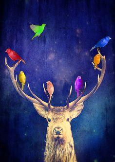 Colour Theory - Art Print by Rubbishmonkey
