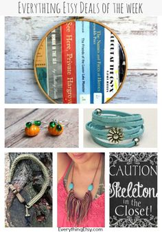 Everything Etsy Deals of the Week —  You will love these discounts! 10/18/2014