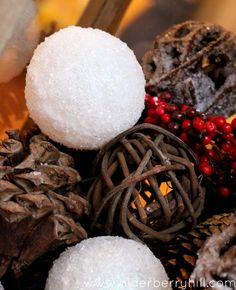 Homemade Snowballs & A Christmas Lantern - Alderberry Hill