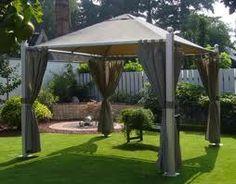 gazebo garden, landscap, backyard idea, gazebo live, outdoor