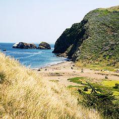 Channel Islands beach