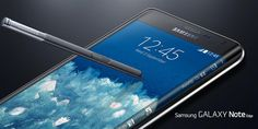 """Samsung Mobile no Twitter: """"Curved. Not bent. #GALAXYNoteEdge"""
