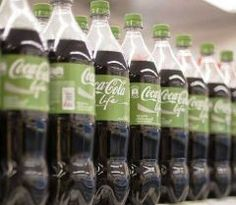 The new product has 108 calories in a 600 millilitre bottle - between classic Coke with 250 calories and the zero-calorie Diet Coke