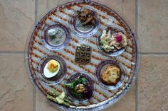 PASSOVER: This ain't your momma's Seder Plate: Food Blogger Challenge!