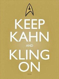 Keep Kahn and Kling On