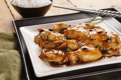 Another great PF Changs dish - Chicken with Black Bean Sauce