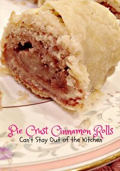 Pie Crust Cinnamon Rolls | Can't Stay Out of the Kitchen | wonderful #homemade #cinnamonrolls made from #piecrust mix! Great for #breakfast or snacks. #cinnamon #dessert
