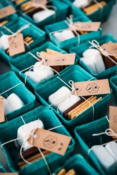 smores wedding favor