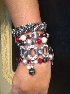 Arm Candy: Starlet Bracelet, Hot Hot Hot, and It's a Wrap. Premier Designs jewelry