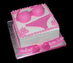 Pink Lingerie Bridal Shower Cake by Simply Sweets, via Flickr Lingeri Bridal, Lingerie, Cake Idea, Bachelorett Idea, Lingeri Shower, Pink, Bachelorett Parti, Bridal Showers, Bridal Shower Cakes