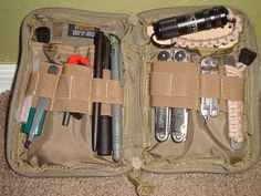Maxpedition EDC Pocket Organizer Loaded with Gear