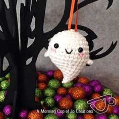 Baby ghost - free crochet pattern