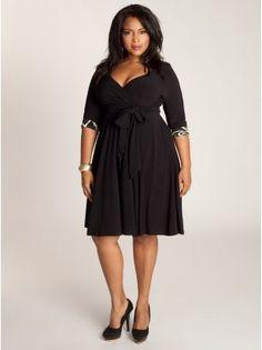 Jaqueline 2-in-1 Dress in Black