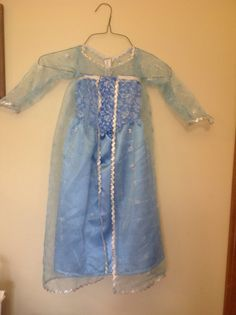 Dress inspired by Disneys Frozen Elsa, size 4