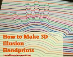 How to Make 3D illusion hand prints