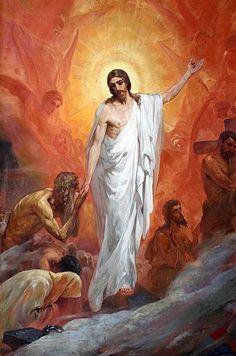 Nikolay Andreyevich Koshelev, (1840-1918): Ascensión de Jesús, 1900.