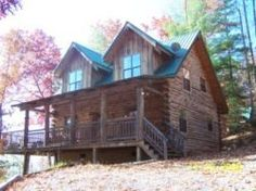 So need a vacation here!  This will be our next cabin we visit in Townsend :)