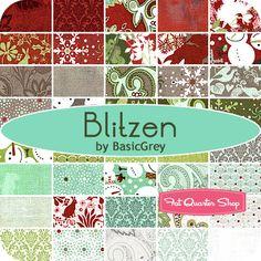 Blitzen Yardage BasicGrey for Moda Fabrics - Fat Quarter Shop