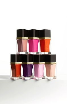 Glossy and shiny! Having a mani crush on this Tom Ford nail lacquer collection.