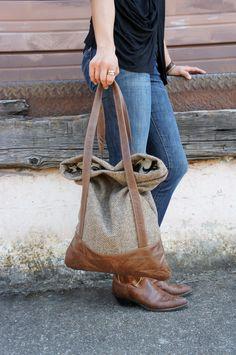 Luella Bag $182.00, via Etsy.