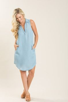 Vera Chambray Shift